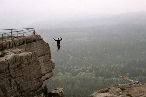 balance slackline vertigo daredevil - 6703290624