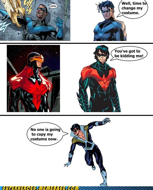 nightwing,costume,ugly,wtf