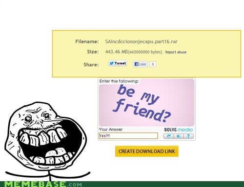 forever alone,finally,be my friend,alimony,yes