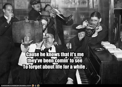 bar,drinking,piano,prohibition,Party
