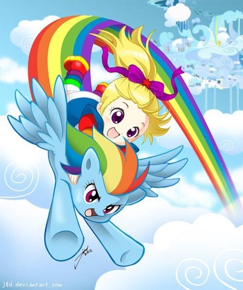 Fan Art rainbow dash crossover - 6703900416