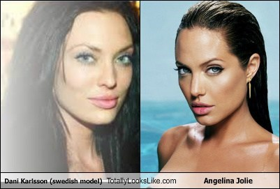 funny TLL celeb actor model dani karlsson Angelina Jolie - 6703998208