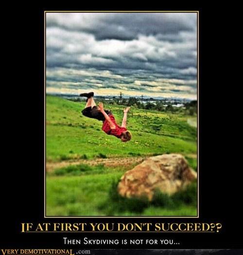skydiving bad idea - 6704015872