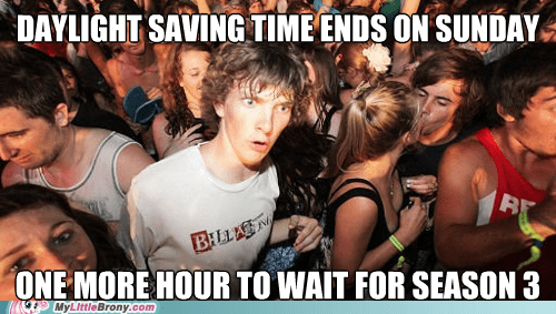 daylight savings time,season 3,meme,sudden clarity clarence