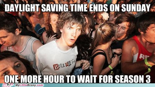 daylight savings time season 3 meme sudden clarity clarence - 6704604928