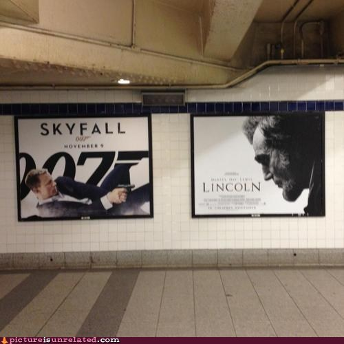lincoln,treason,movies,skyfall,007