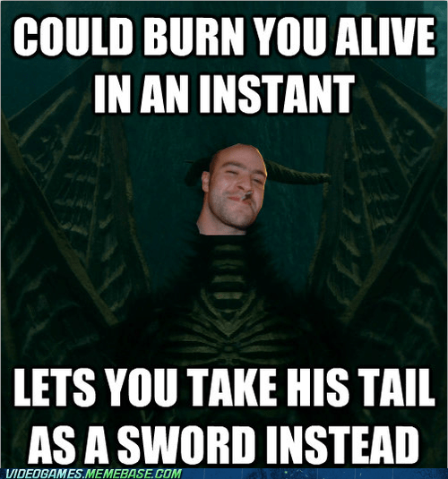 ancient dragon,good guy,meme