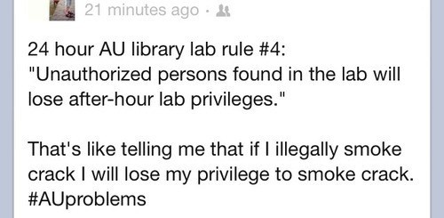 crack,lab rules,After Hours,privileges