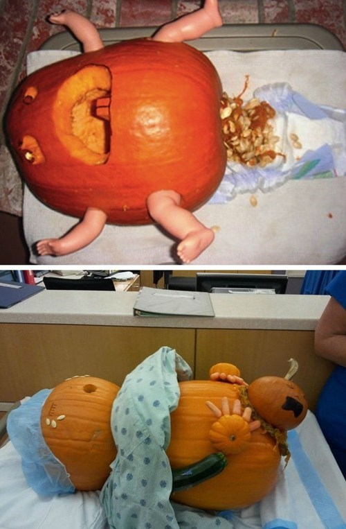 baby,birth,pumpkins