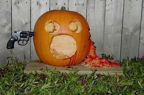 pun halloween suicide die pie dead jack-olantern
