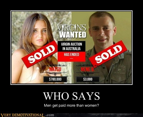 WHO SAYS Men get paid more than women?
