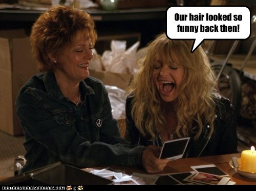 goldie hawn actor susan sarandon celeb funny
