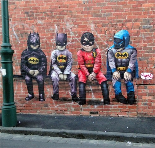 batman robin art graffiti awesome - 6705573120