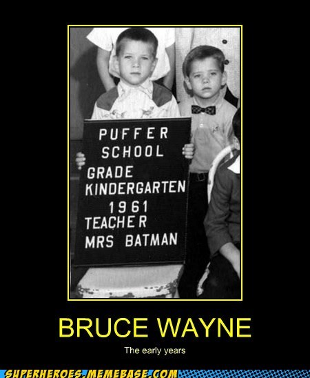 teacher batman bruce wayne - 6705647616