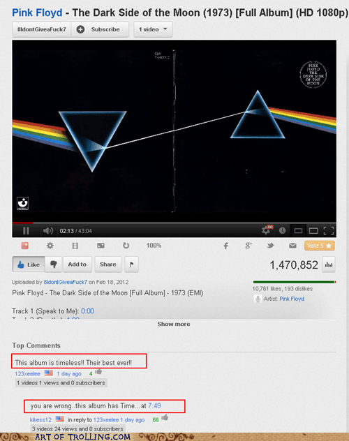 Music youtube pink floyd