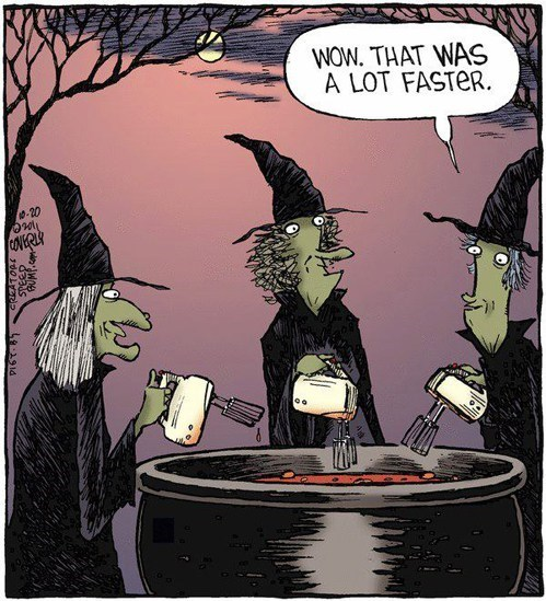 early bird special,halloween,witches cauldron