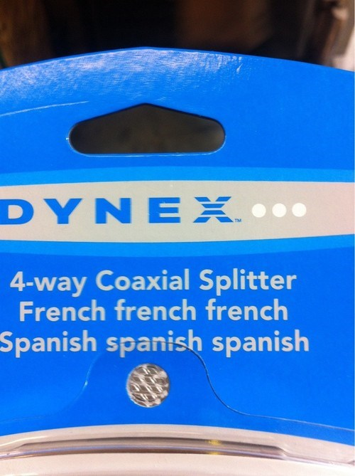 spanish packages french dynex funny - 6705715712