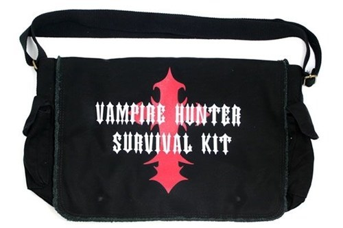 bag,vampires,messenger bag,kit,hunter