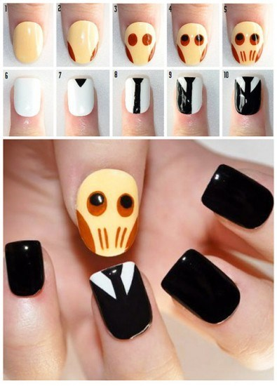 nails silence fashion spooky doctor who style if style could kill - 6705769472