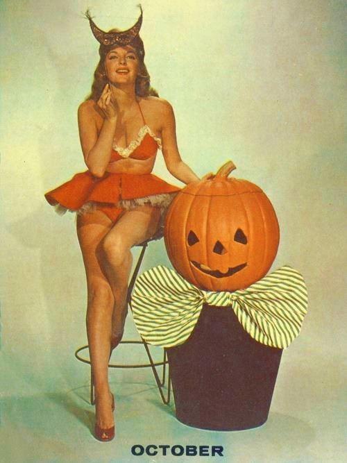 pumpkins halloween jack o lanterns pinup - 6705811200
