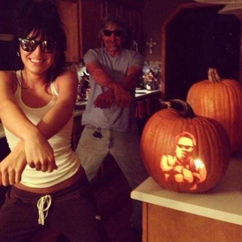 pumpkins halloween carving psy Hall of Fame best of week - 6706100736