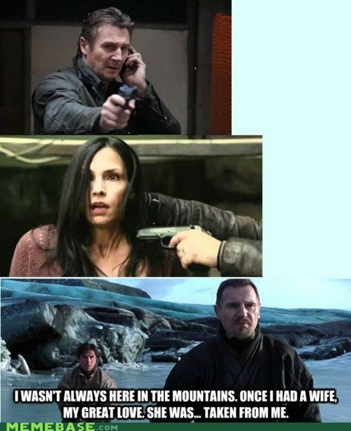 taken liam neeson Movie wife