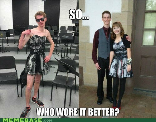 Who wore it better?: Boyfriend Edition