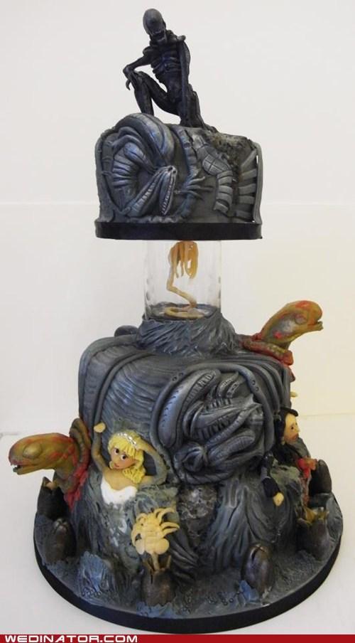 cake horror scary alien - 6707191040