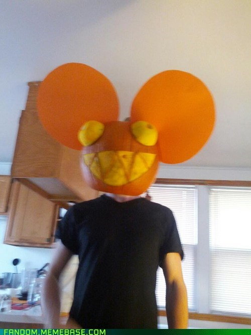 Deadmau5,pumpkins,halloween,jack o lanterns