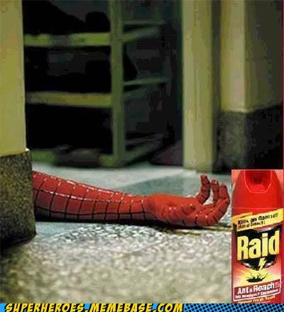 bug spray Spider-Man raid - 6707252736