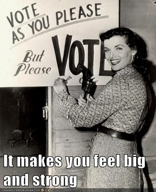 vote,strong,big,empowering