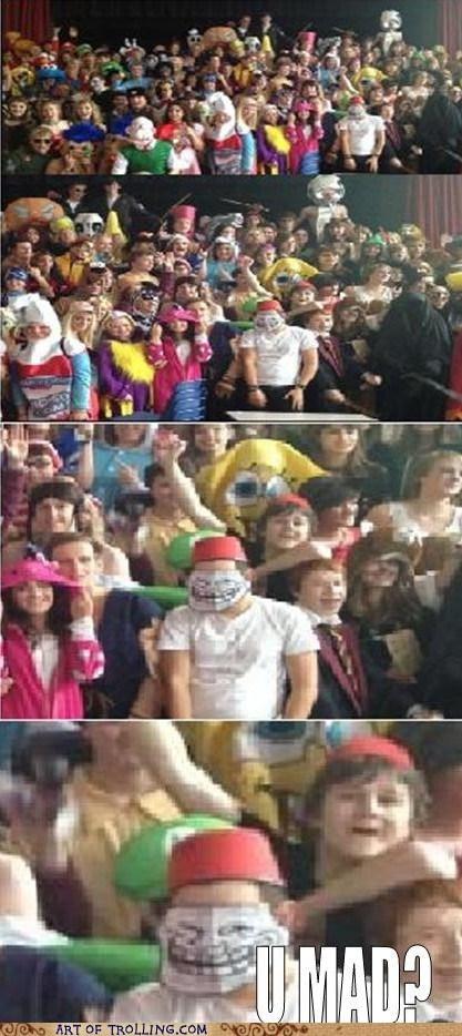 costume trollface halloween - 6707737088