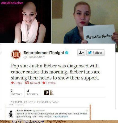 twitter 4chan cancer bald4bieber justin bieber - 6707778816