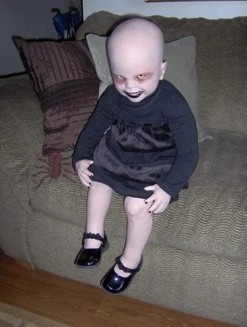 halloween costumes,creepy baby