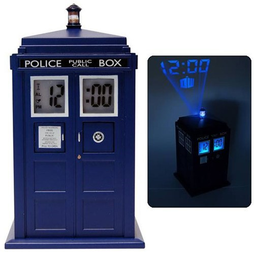 alarm doctor who clock inspector spacetime tardis - 6707981312