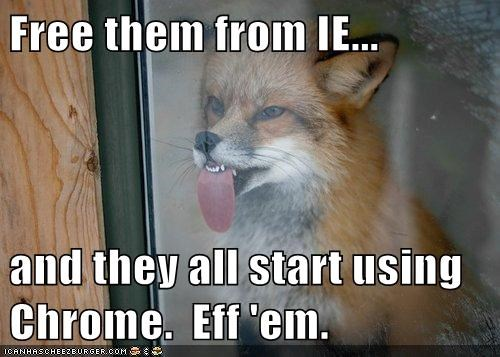 ie,fox,eff them,firefox,sticking tongue out,chrome,free