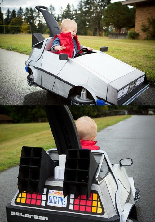 back to the future,DeLorean,kids,marty mcfly