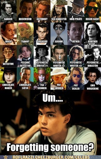 actor celeb Johnny Depp funny - 6708173824