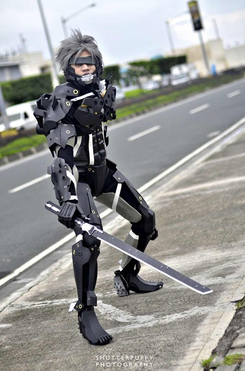 raiden,cosplay,metal gear rising