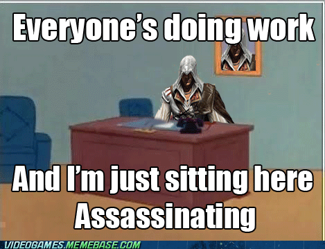 assassins-creed-3 so excited meme just sitting here - 6708360960