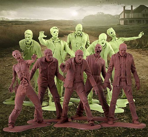 The Walking Dead army men