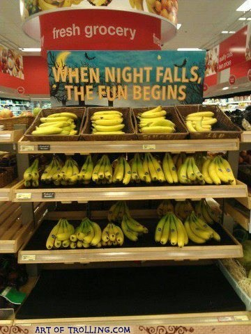 fun,sign,that looks naughty,IRL,banana,night
