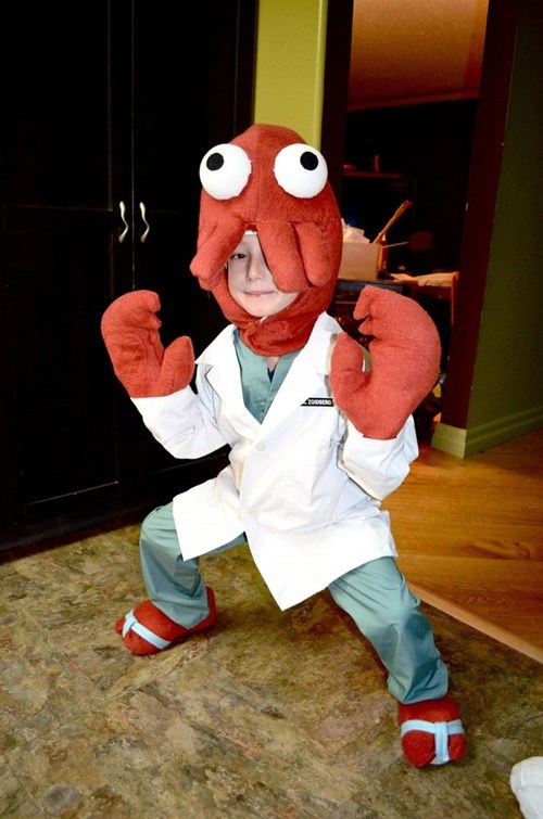 childrens-costumes futurama Zoidberg - 6708429568