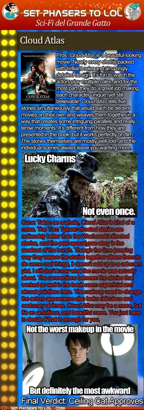 reviews cloud atlas movies tom hanks jim sturgess Hugo Weaving grande gatto - 6708459264