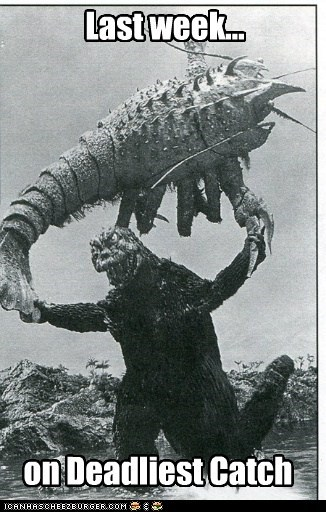 monster godzilla deadliest catch fighting - 6708461568