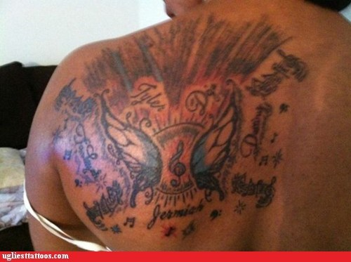 wings back tattoos - 6709011200