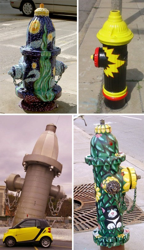 design,fire,fire hydrant,hacked irl,painting
