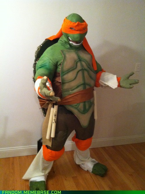 cosplay TMNT michelangelo ninja turtles - 6709387264
