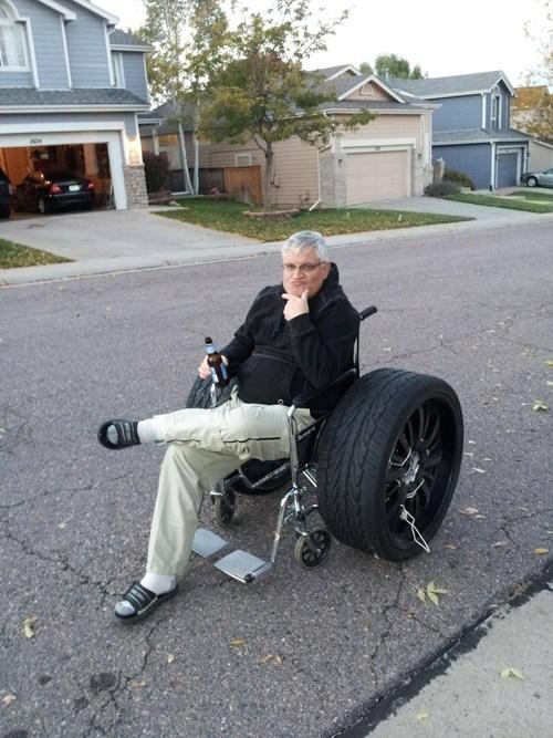 DIY swag modification ride wheelchair - 6709410048