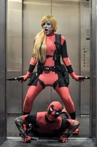 cosplay deadpool gangnam style - 6709792768